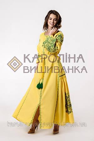 Новинка Заготовка на жіночу сукню бохо під вишиття бісером або нитками e0f2389b17530