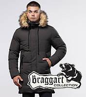 Braggart Youth   Куртка зимняя 25290 кофе