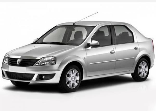 Лобовое стекло на Dacia Logan (2005-2012) , фото 2