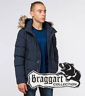 Braggart Youth | Куртка зимняя молодежная 13-25 лет 25210 темно-синяя