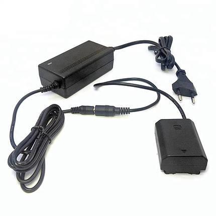 Адаптер живлення RingTeam від мережі 220В та імітатор батареї для Sony Alpha 9 A9 A7RIII A7 III, фото 2