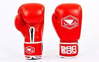 Перчатки боксерские BAD BOY STRIKE VL-6615-R