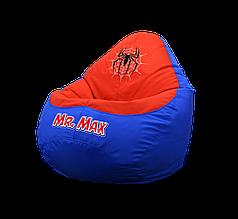 """Кресло мешок груша """"Spider-Man. Classic logo width Name"""""""