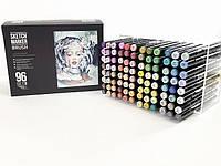 Набор маркеров SKETCHMARKER BRUSH 96 set 2 - (96 маркеров в пластиковом кейсе)