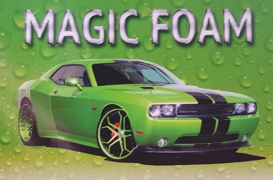 Magic Foam активная пена для мойки