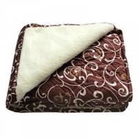 Одеяло Двухспальное Меховое Радуга в сумке