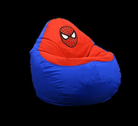 """Кресло мешок груша """"Spiderman"""", фото 2"""