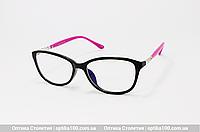 Женские очки для компьютера со стеклянными линзами