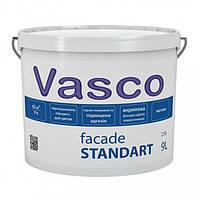 Vasco Facade Standart акриловая фасадная краска 9л
