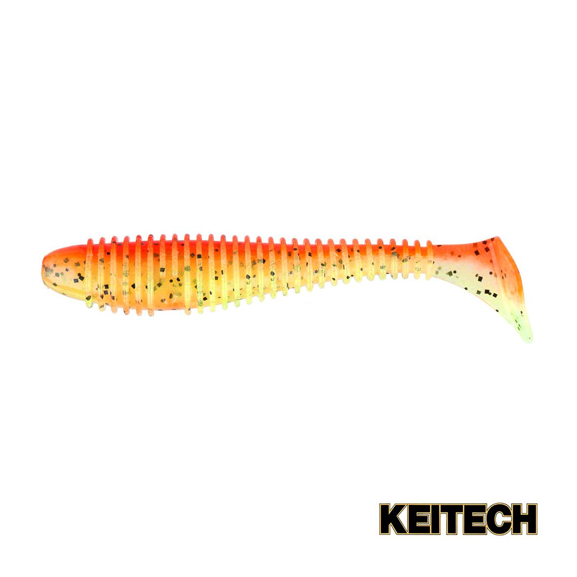 """Силикон Keitech Swing Impact FAT 2.8"""" (8 шт/упак) ц:pal#08 spicy"""