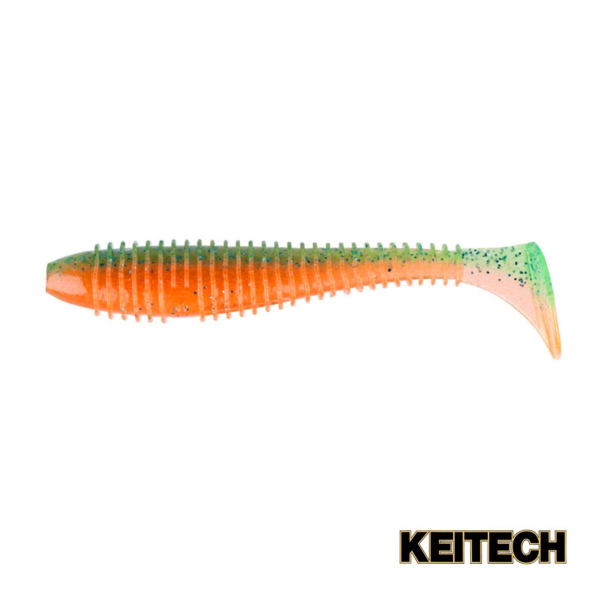 "Силикон Keitech Swing Impact FAT 2.8"" (8 шт/упак) ц:pal#11 rotten"