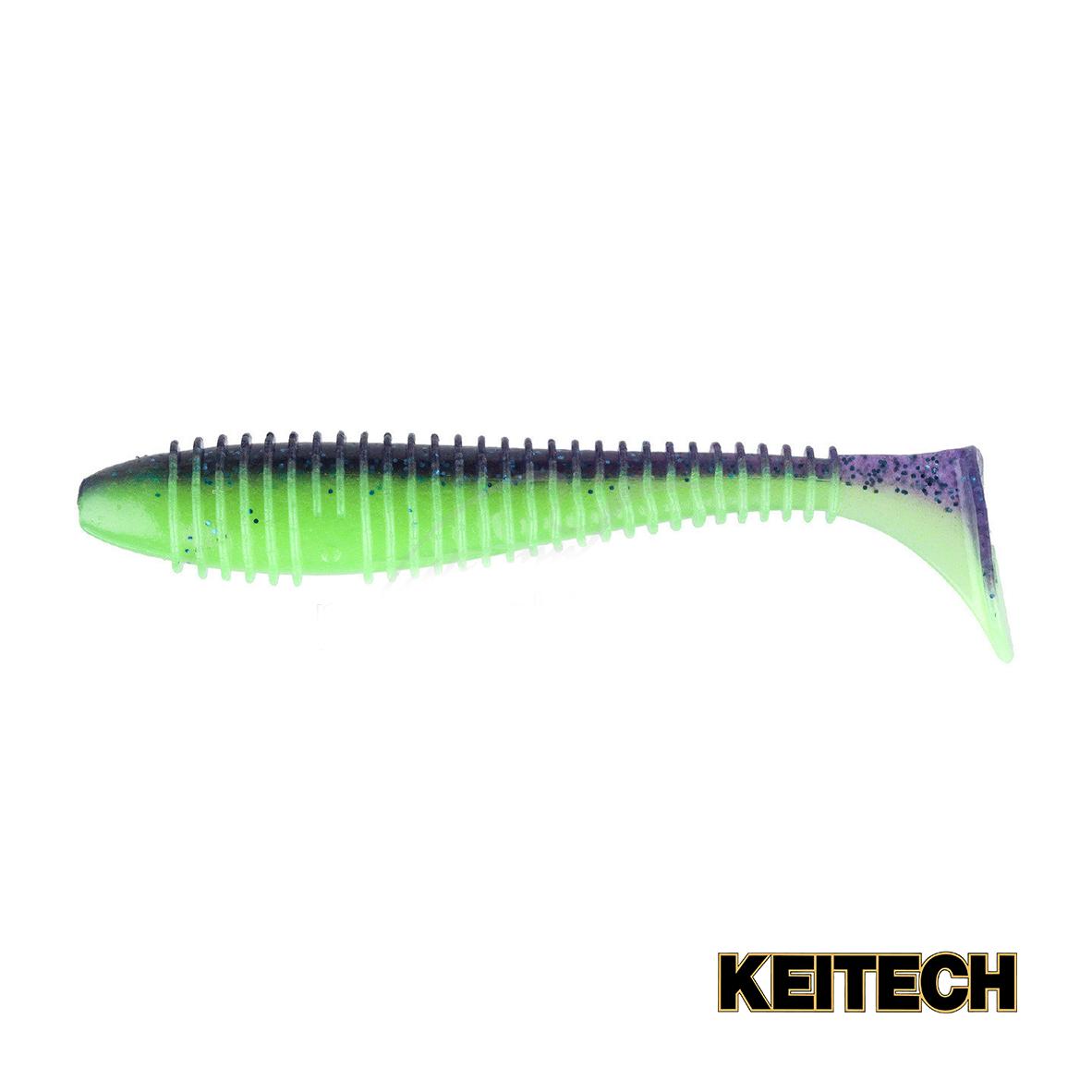 "Силикон Keitech Swing Impact FAT 2.8"" (8 шт/упак) ц:pal#06 violet"