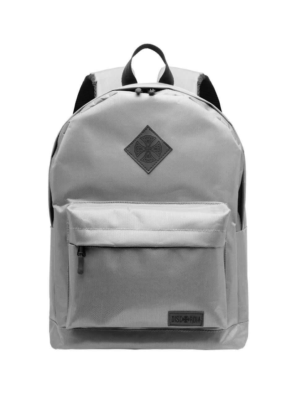 1ecaf719e460 Городской рюкзак школьный Discordia 14л. серый Vanilla Underground (мужской  рюкзак, женский рюкзак,