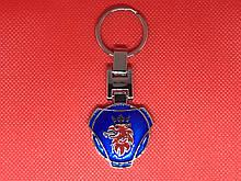 Брелок металлический для авто ключей SAAB (СААБ)