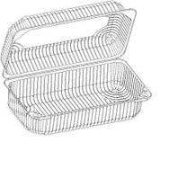 ITEX Коробка пластиковая IT-356t.17 (за1шт) 1,85кг (117-9)