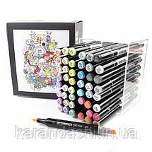 Набор маркеров SKETCHMARKER BRUSH 48 Baby style - Нежные тона (48 маркеров в пластиковом кейсе), фото 3
