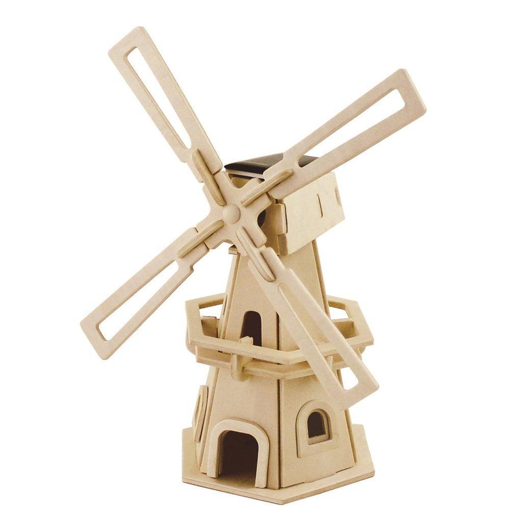 Конструктор из дерева Robotime Ветряная мельница 1 32 детали