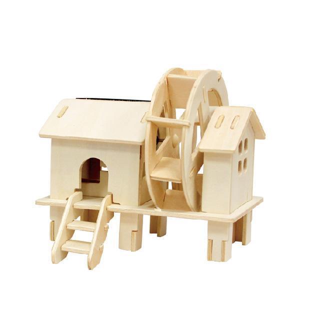 Деревянный конструктор Robotime Водяное колесо  30 деталей