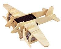 Конструктор Robotime Бомбардировщик из дерева 14 деталей, фото 1
