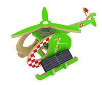 Конструктор из дерева Robotime Вертолет-A с красочным покрытием 13 деталей, фото 1