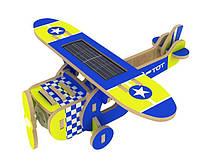 Деревянный конструктор Robotime Моноплан с красочным покрытием 25 деталей, фото 1