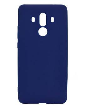 Чохол-накладка Candy для Huawei Mate 10 Pro Силіконовий Синій, фото 2
