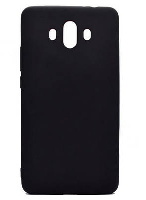 Чохол-накладка Candy для Huawei Mate 10 Силіконовий Чорний, фото 2