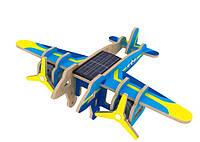 Деревянный конструктор Robotime Бомбардировщик с красочным покрытием 14 деталей, фото 1