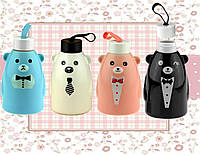 Термобутылка  Gentle Bear, 4 вида ( бутылка медвежонок )