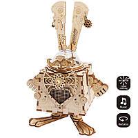 Деревянный конструктор Robotime Кролик 116 деталей, фото 1