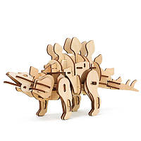 Конструктор из дерева Robotime Динозавр Стегозавр 88 деталей, фото 1