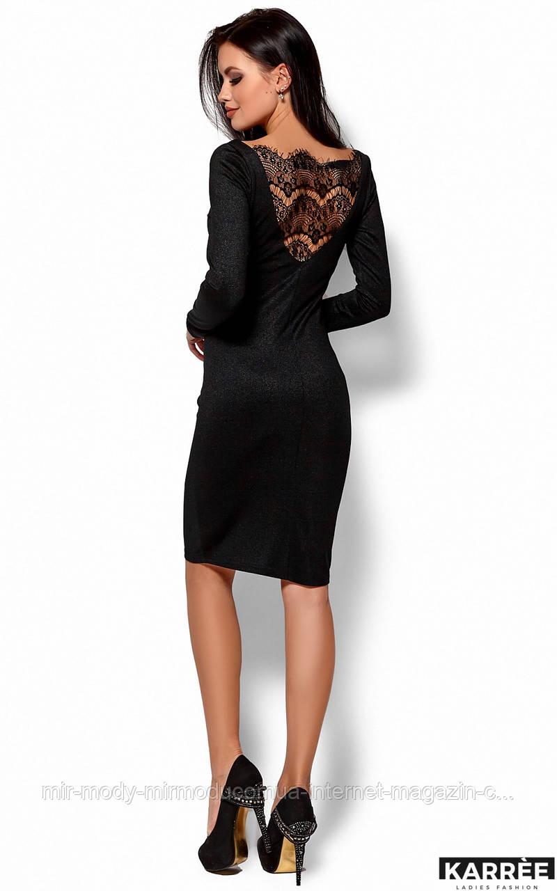 Платье Люси -нарядное черное Размер: S, M, L(кр)