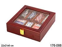 Набор для покера в кейсе 2, покерный набор