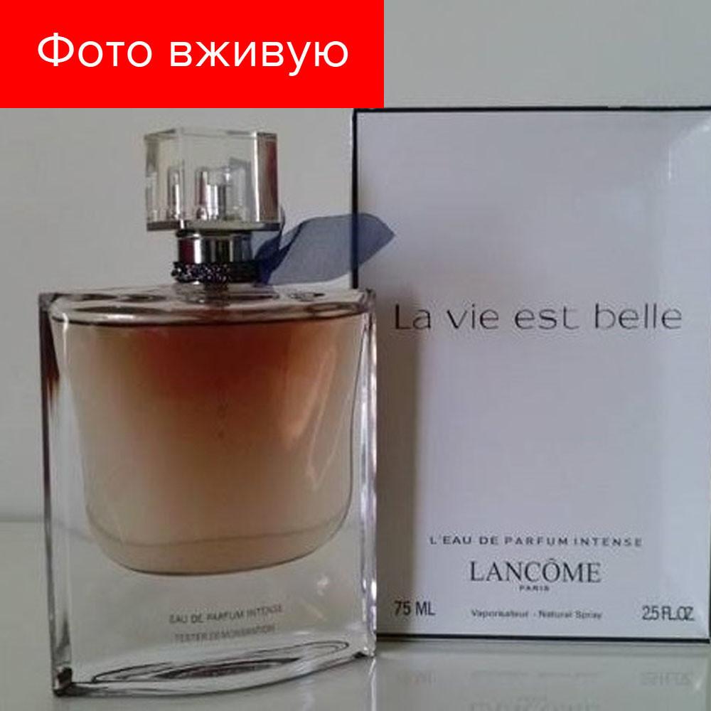 75 Tester Ланком IntenseEau Вие Интенс La Est Ест MlТестер Vie Мл Parfum Lancome Ла Биль Belle De w0kOnP