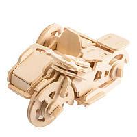 Конструктор  Robotime из дерева Трицикл 42 детали, фото 1