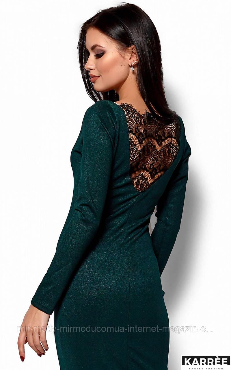 Платье Люси -нарядное изумрудное Размер: S, M, L(кр)