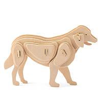 Деревянный конструктор Robotime Умная собака 24 детали, фото 1