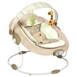 Детский шезлонг-качалка Bambi 60683 музыкальный c вибро