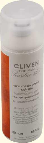 Cliven Пена для бритья для чувствительной кожи 300мл (шт.)