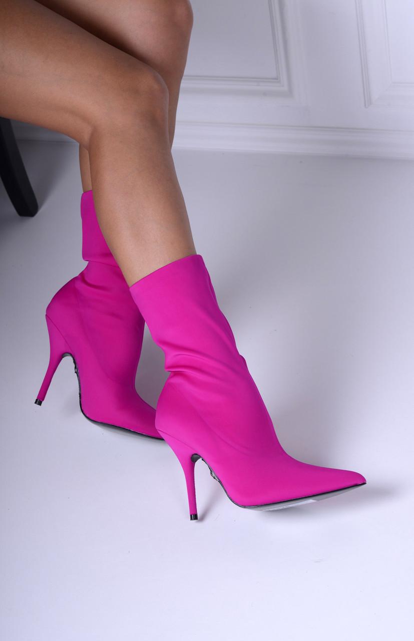 Ботинки чулки в стиле Баленсиага