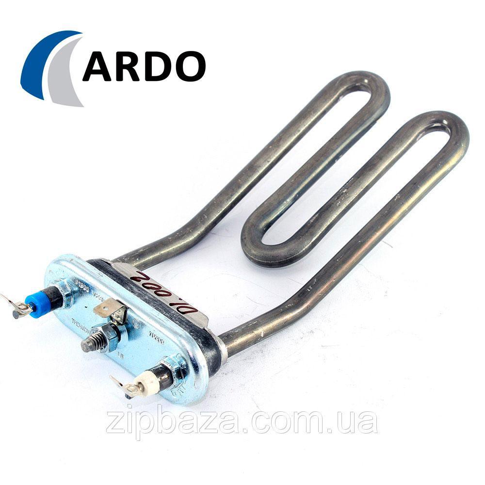 ➜ Тэн для стиральных машин Ardo 1900W загнутый (короткий)