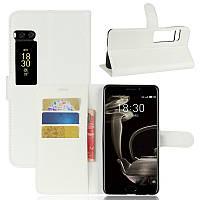 Чехол книжка для Meizu Pro 7 Белый
