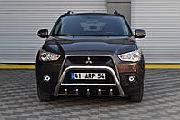Кенгурятник (без гриля) Mitsubishi ASX