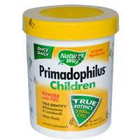 Примадофилус детский  (0-5 лет) 141,75 г, 3 млрд.  пробиотик  для детей  Nature's Way