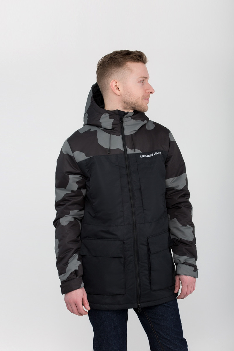 Парка А6 CAMO BLK Urban Planet XXL 100% полиэстер Multicolor UP 2-1-1-36