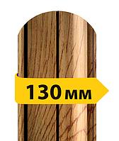 Штакетник двусторонний 3d дерево
