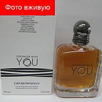 Tester Emporio Armani Stronger With You. Eau de Parfum 100 ml   Тестер Эмпорио Армани Стронгер Виз Ю 100 мл