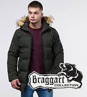 Braggart Youth | Зимняя куртка молодежная 25270 темно-зеленая, фото 1