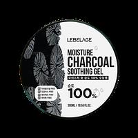 Увлажняющий гель с углем Lebelage Moisture Charcoal 100% Soothing Gel