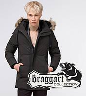 Braggart Youth | Куртка зимняя молодежная 25090 кофе, фото 1